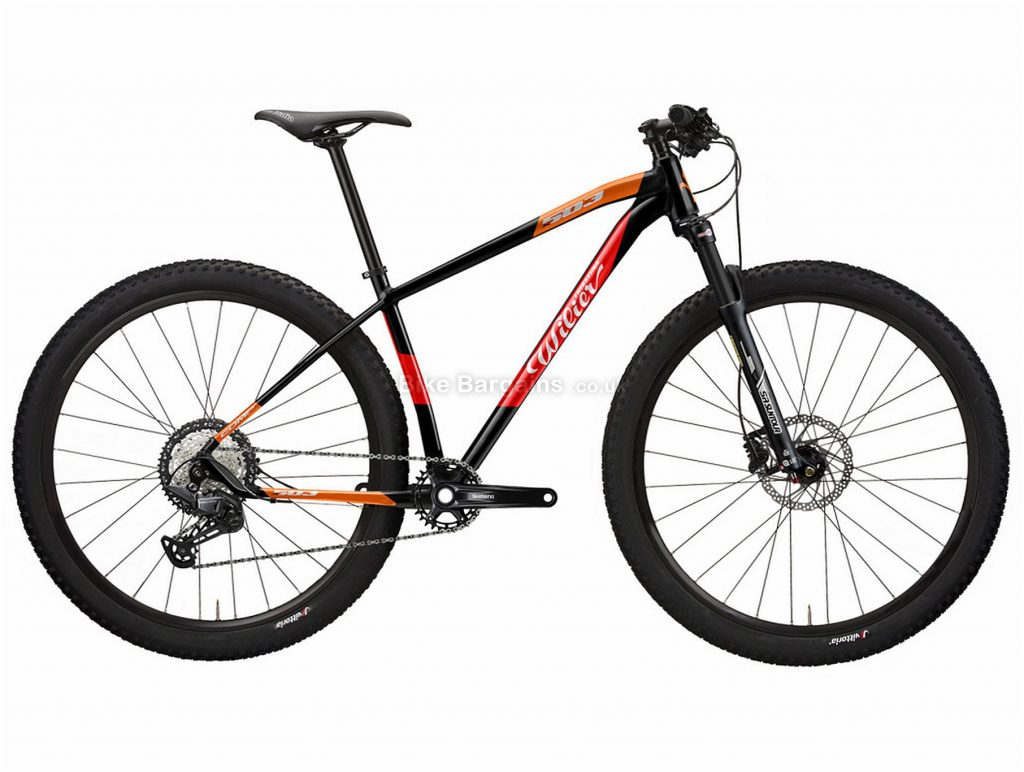 "Wilier 503X Comp Alloy Hardtail Mountain Bike 2021 S,M,L,XL, Black, Red, Orange, Grey, Alloy Frame, 12 Speed, 29"" Wheels, Disc Brakes, Single Chainring"