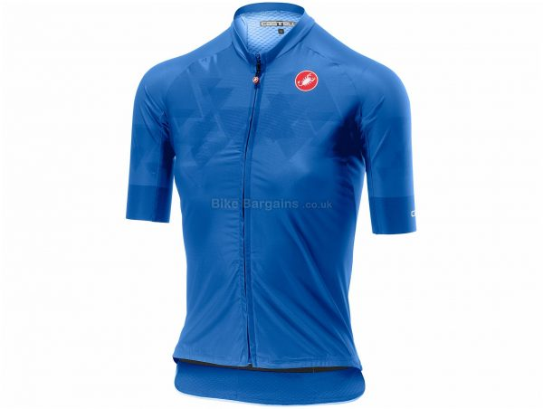 Castelli Ladies Aero Pro FZ Short Sleeve Jersey XL, Grey, Ladies, Short Sleeve, Polyester, Elastane
