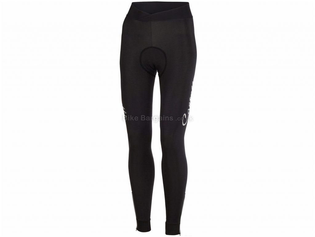 Castelli Nanoflex Donna Ladies Tights XS, Black, Waterproof, Thermal