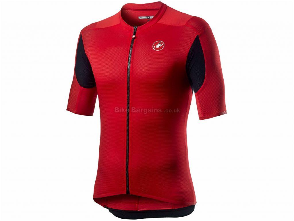 Castelli Superleggera 2 Short Sleeve Jersey XXXL, Green, Men's, Short Sleeve, Polyester, Elastane