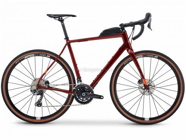 Fuji Jari Carbon 1.1 Gravel Bike 2021 52cm,54cm,56cm,58cm, Red, Carbon Frame, 22 Speed, 700c Wheels, Disc Brakes, GRX Drivetrain, Double Chainring