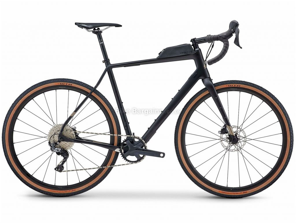 Fuji Jari Carbon 1.3 Gravel Bike 2021 52cm,54cm,56cm,58cm, Black, Carbon Frame, 11 Speed, 700c Wheels, Disc Brakes, GRX Drivetrain, Single Chainring