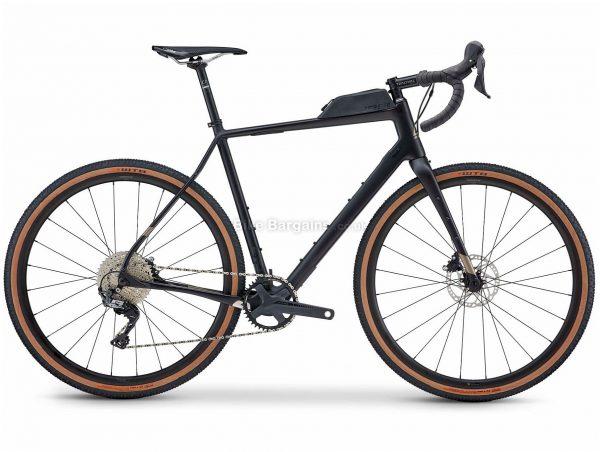 Fuji Jari Carbon 1.3 Gravel Bike 2021 52cm, Black, Carbon Frame, 11 Speed, 700c Wheels, Disc Brakes, GRX Drivetrain, Single Chainring