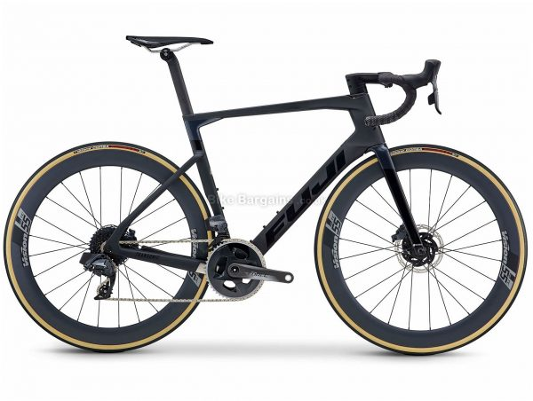 Fuji Transonic 1.1 Carbon Road Bike 2021 52cm, 58cm, Black, Carbon Frame, 24 Speed, 700c Wheels, Disc Brakes, Force Drivetrain, Double Chainring
