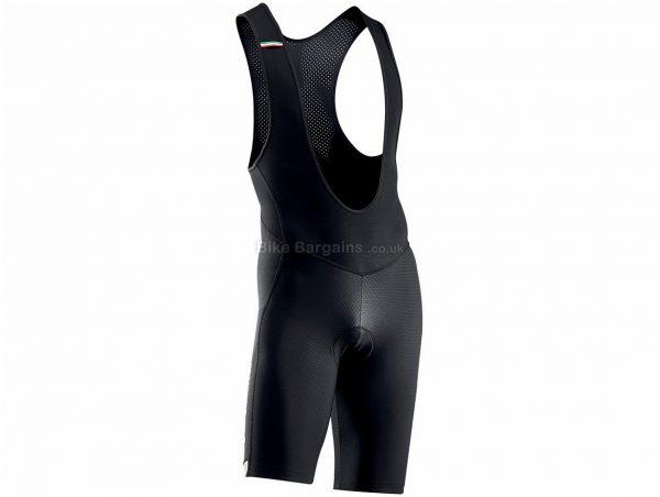 Northwave Active MS Bib Shorts XXXL, Black, Lycra, Silicone