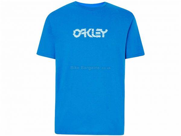 Oakley Cut B1B Logo T-Shirt M, Black, Men's, Short Sleeve, Cotton