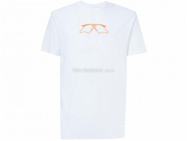 Oakley Mumbo T-Shirt XL, White, Men's, Short Sleeve, Cotton