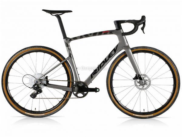 Ridley Kanzo Fast Ekar Aero Custom Build Carbon Gravel Bike XL, Grey, 700c wheels, Carbon Frame, Disc, Single Chainring, 13 Speed