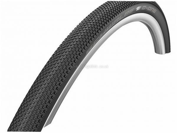 Schwalbe G-One Allround Performance RaceGuard Folding Gravel Tyre 700c, 38c, Black, 400g, Folding, Kevlar Bead