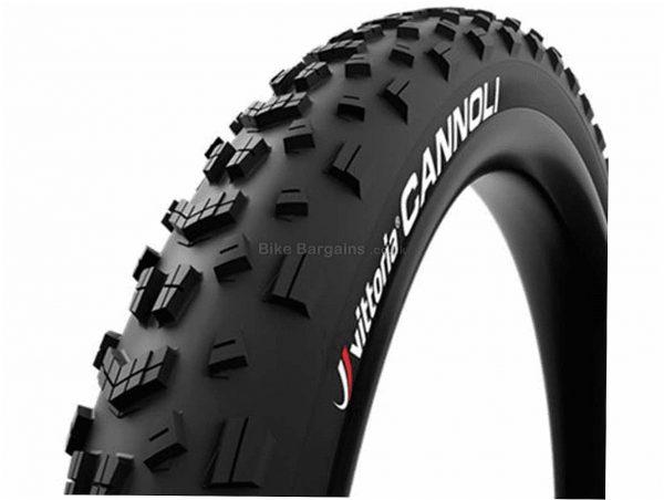 """Vittoria Cannoli TNT Folding MTB Tyre 27.5"""", 3"""", Black, Folding, 1.13kg, Rubber, Kevlar"""