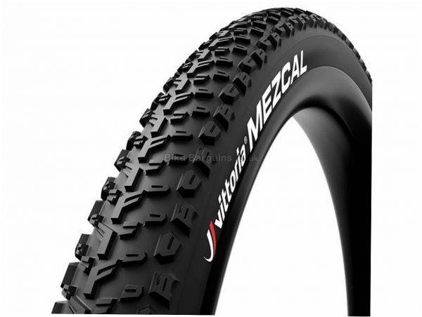 "Vittoria Mezcal G+ Folding MTB Tyre 29"", 2.25"", Black, Folding, 690g, Rubber, Kevlar"