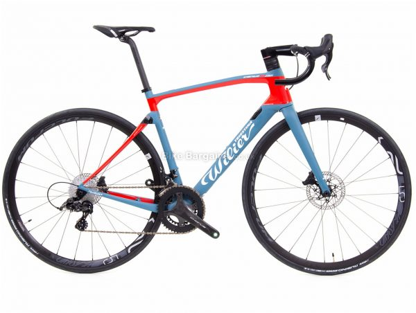 Wilier Cento 10 NDR Disc Chorus Scirocco Carbon Road Bike XS, Blue, Red, Black, 700c wheels, Carbon Frame, Disc, Double Chainring, 24 Speed