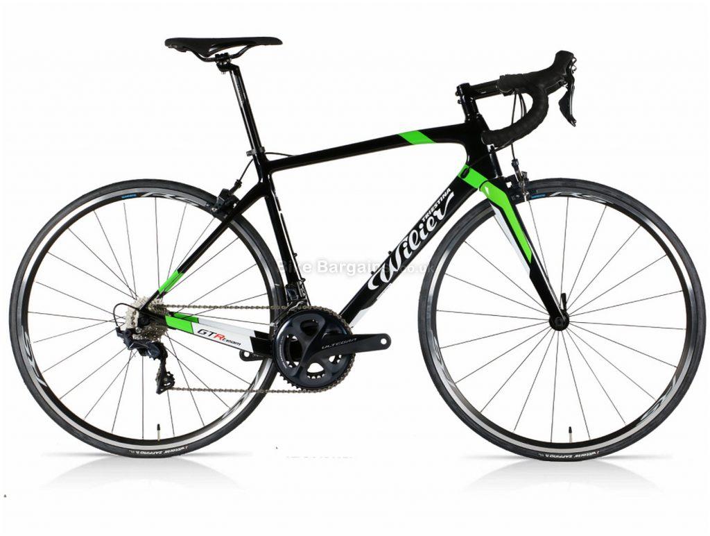 Wilier GTR Team Ultegra Carbon Road Bike S,M,L,XL, Black, Green, Ultegra, Carbon Frame, 700c, 22 Speed, Caliper Brakes, Double Chainring
