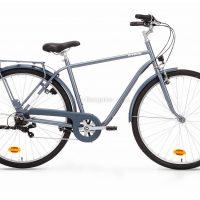 B'Twin Elops 120 High Frame Steel City Bike