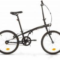 B'Twin Tilt 100 Steel Folding City Bike