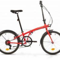 B'Twin Tilt 120 Steel Folding City Bike