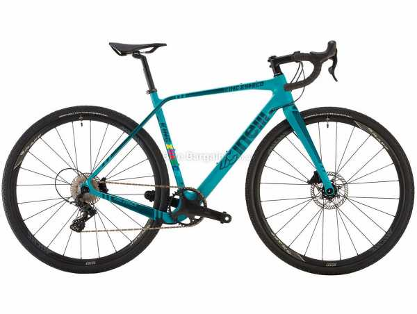 Cinelli King Zydeco Ekar 13x Carbon Gravel Bike 2021 48cm,53cm,55cm, Turquoise, Carbon Frame, 13 Speed, Ekay Drivetrain, 700c Wheels, Disc Brakes