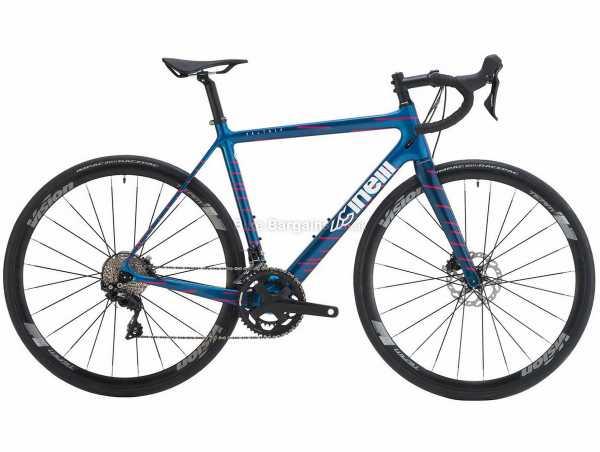 Cinelli Veltrix Disc 105 Carbon Road Bike 2021 52cm, Blue, Red, Carbon Frame, 22 Speed, 105, 700c Wheels, Disc Brakes, Double Chainring