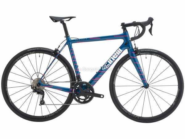 Cinelli Veltrix Rim 105 Carbon Road Bike 2021 58cm, Blue, Pink, Carbon Frame, 22 Speed, 105 Drivetrain, 700c Wheels, Caliper Brakes