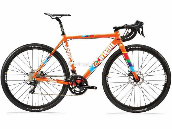 Cinelli Zydeco LaLa Sora Alloy Adventure Road Bike 2021 XL, Orange, Alloy Frame, 700c Wheels, 18 Speed, Disc Brakes, Rigid, Double Chainring
