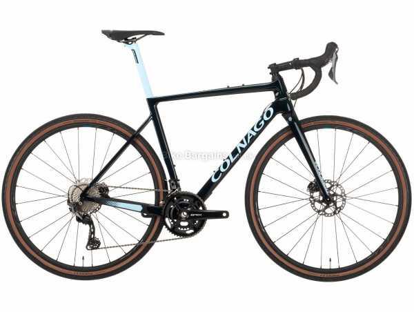 Colnago G3X 2x Carbon Gravel Bike 2021 52cm, Black, Blue, Carbon Frame, 22 Speed, GRX, 700c Wheels, Disc Brakes, Double Chainring