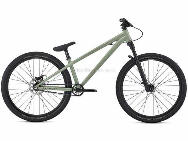 "Commencal Absolut Dirt Alloy Jump Hardtail Mountain Bike 2021 L, Green, Black, Alloy Frame, 1 Speed, 26"" Wheels, Disc Brakes, Single Chainring"