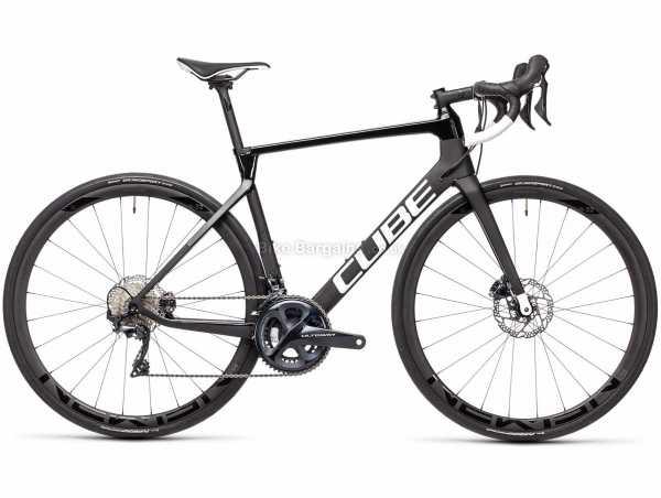 Cube Agree C:62 Race Carbon Road Bike 2021 60cm, Black, Carbon Frame, 22 Speed, Ultegra, 700c Wheels, Disc Brakes, Double Chainring