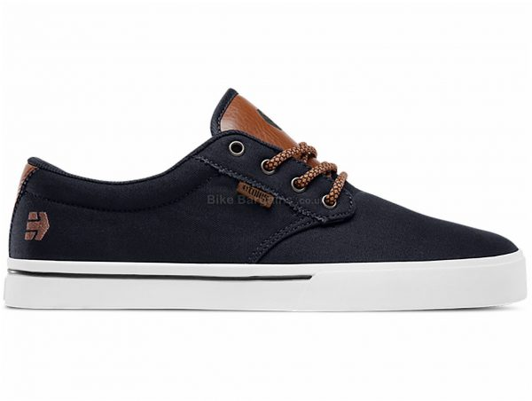 Etnies Jameson 2 Eco Shoes 45, Black, Brown, Men's, Laces Fastening, Polyester, Rubber