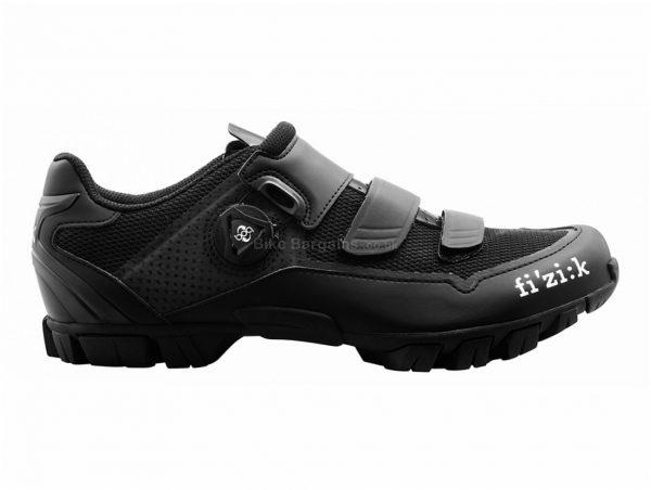 Fizik M6B MTB Shoes 37, Black, Boa, Velcro, 385g