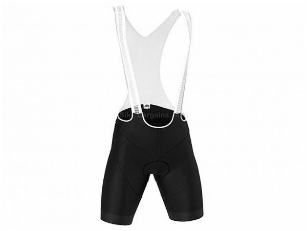 GSG Pordoi Bib Shorts XXL, Black, White, Tight, 170g