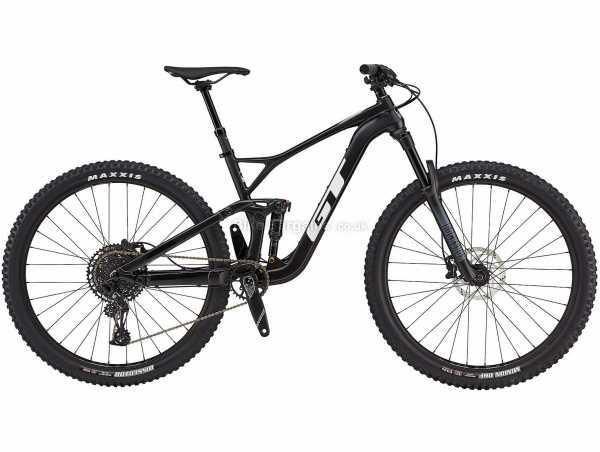 "GT Sensor Carbon Elite Full Suspension Mountain Bike 2021 XL, Black, Carbon Frame, 29"" Wheels, 12 Speed, Disc Brakes, Full Suspension, Single Chainring"