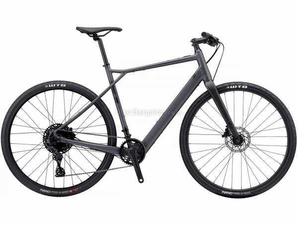 GT eGrade Current Alloy Gravel Electric Bike 2021 M,L, Black, Alloy Frame, 10 Speed, Microshift Drivetrain, 700c Wheels, Disc Brakes,