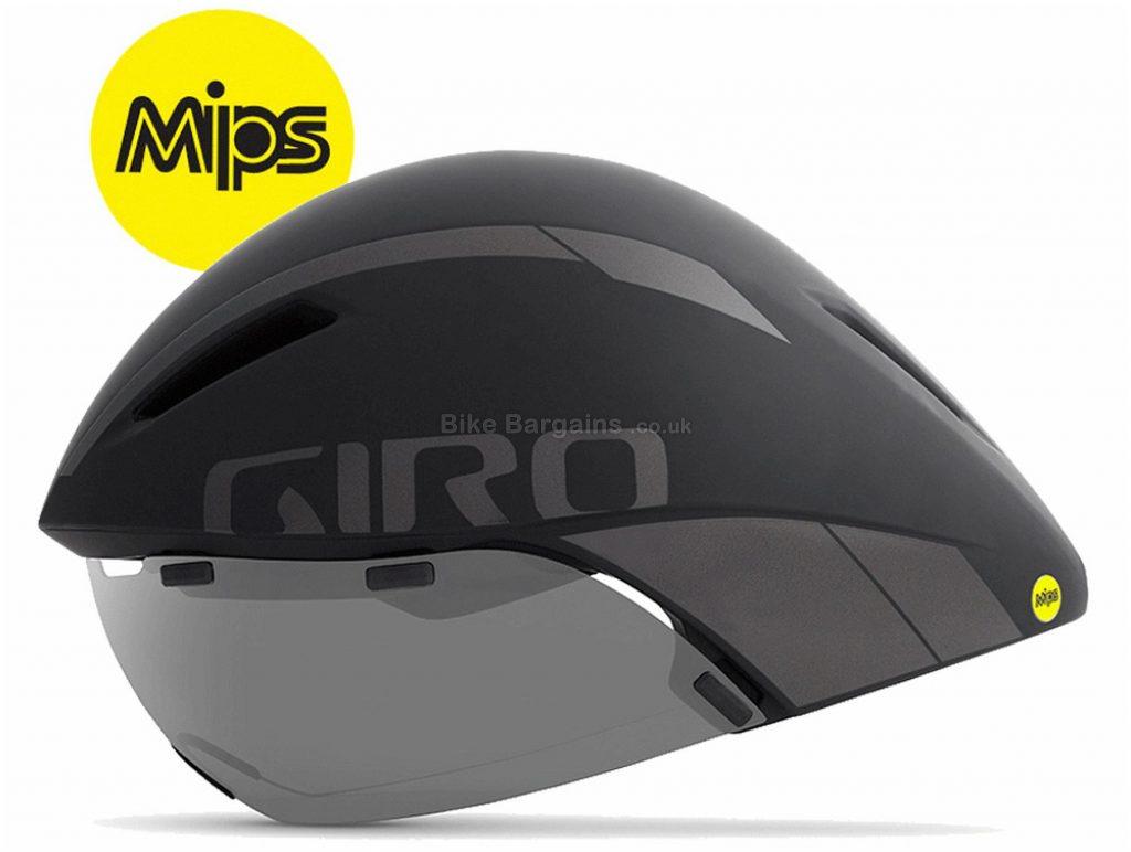 Giro Aerohead MIPS Aero Tri Helmet 2019 S,M,L, Grey, White, Yellow, 4 vents, 455g