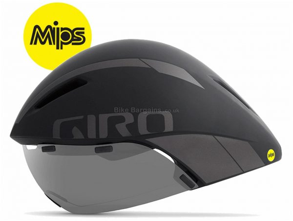 Giro Aerohead MIPS Aero Tri Helmet 2019 S,L, Grey, White, Yellow, 4 vents, 455g