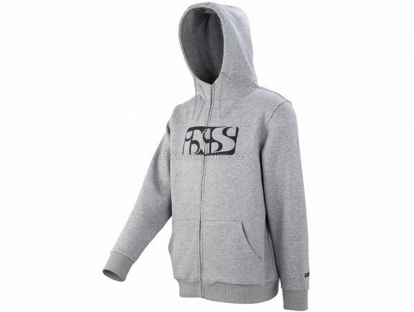 IXS Brand Hoodie M, Black, Men's, Long Sleeve, Cotton, Polyester