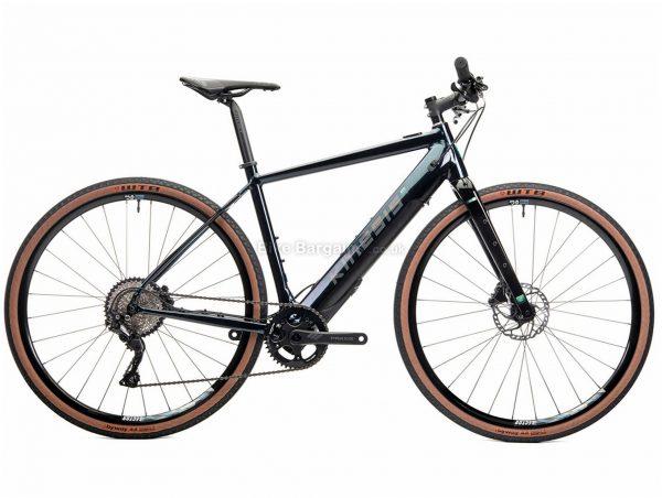 Kinesis Range Flat Bar Alloy Electric Bike XL, Green, Black, Alloy Frame, 700c wheels, Disc Brakes, Single Chainring, 10 Speed, Deore Groupset, 14.9kg