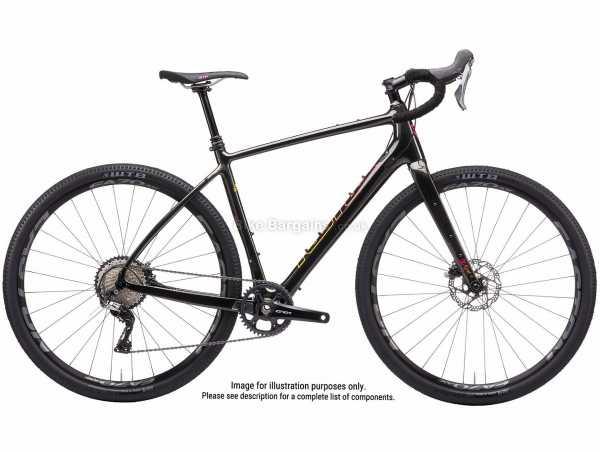 Kona Libre CR DL Carbon Adventure Road Bike 2021 52cm, 54cm, Black, Carbon Frame, 11 Speed, Rival Drivetrain, 700c Wheels, Disc Brakes,