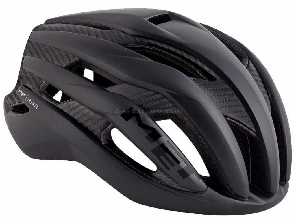 MET Trenta 3K Carbon Road Helmet S,M,L, Black, White, Grey, 19 vents, 215g
