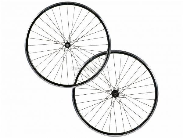 Merlin RA-1 Alloy Clincher Road Wheels 700c, 10-11 Speed, Black, Alloy Rims, Caliper Brakes