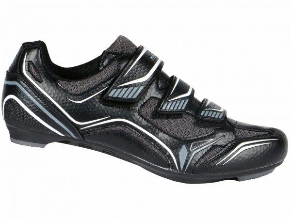 Merlin RC1 Road Shoes 41,42,43,44,45,46,47, Black, Grey, White, Nylon, Velcro, Synthetic Leather, Velcro