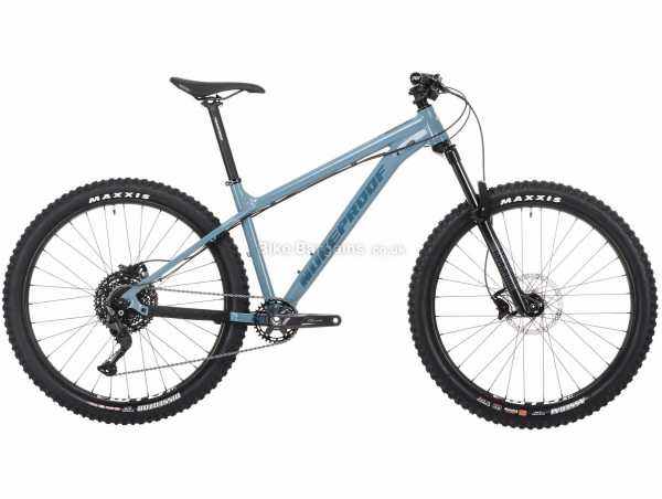 "Nukeproof Scout 275 Race Deore Alloy Hardtail Mountain Bike 2021 L, Blue, Black, Alloy Hardtail Frame, 10 Speed, Deore Drivetrain, 27.5"" Wheels, Disc Brakes, 13.26kg"