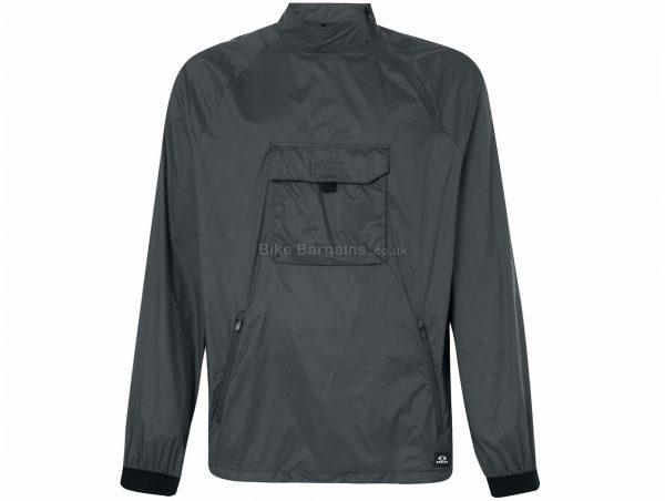 Oakley M65 Tech Anorak Jacket M,XXL, Grey, Men's, Long Sleeve, Nylon