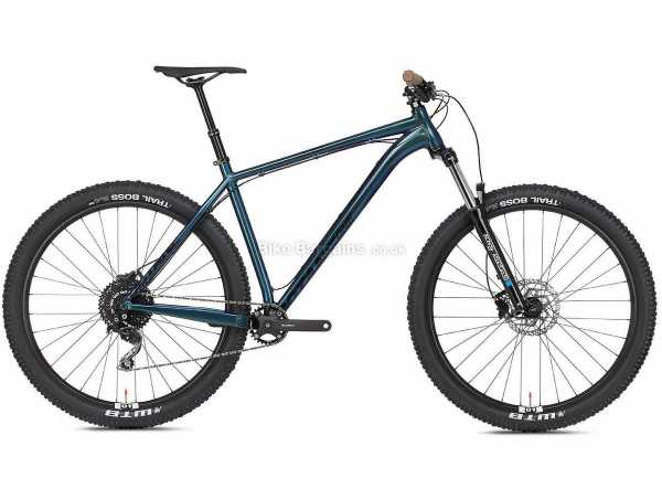 "Octane One Prone Trail Alloy Hardtail Mountain Bike 2021 S, Blue, Black, Alloy Hardtail Frame, 10 Speed, Deore Drivetrain, 29"" Wheels, Disc Brakes,"