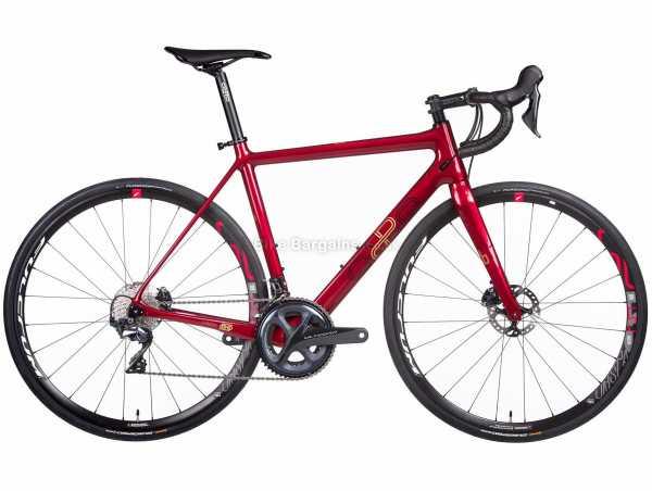 Orro Gold STC Disc Ultegra R500 Carbon Road Bike 2021 S, Red, Carbon Frame, 22 Speed, Ultegra Drivetrain, 700c Wheels, Disc Brakes, 8kg