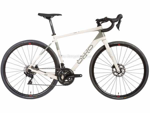 Orro Terra C 105 Hydro RR9 Carbon Gravel Bike 2021 XS,S,M,L,XL, White, Grey, Carbon Frame, 22 Speed, 105 Drivetrain, 700c Wheels, Disc Brakes