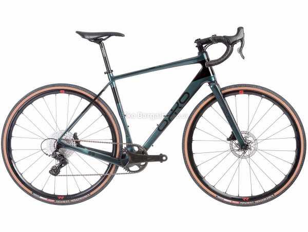 Orro Terra C Ekar RR3 Carbon Gravel Bike 2021 L,XL, Green, Black, Carbon Frame, 13 Speed, Ekar Drivetrain, 700c Wheels, Disc Brakes