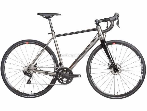 Orro Terra G 105 FSA Alloy Gravel Bike 2021 S,M,L, Silver, Black, Alloy Frame, 22 Speed, 105 Drivetrain, 700c Wheels, Disc Brakes