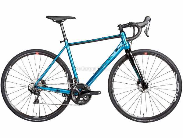 Orro Terra Gravel 7020-HYD RR9 Alloy Gravel Bike 2021 XL, Silver, Black, Alloy Frame, 22 Speed, 105 Drivetrain, 700c Wheels, Disc Brakes,