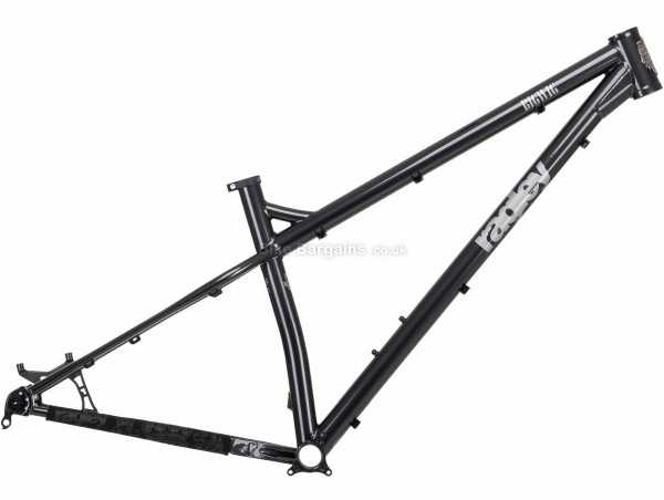 "Ragley Big Wig Steel Hardtail MTB Frame 2021 L, Black, Grey, 29"" wheels, Steel, Hardtail Frame, Disc Brakes"