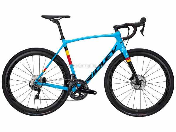 Ridley Kanzo Speed GRX600 Carbon Gravel Bike 2021 XS, Blue, Black, Yellow, Red, Carbon Frame, 22 Speed, GRX Drivetrain, 700c Wheels, Disc Brakes